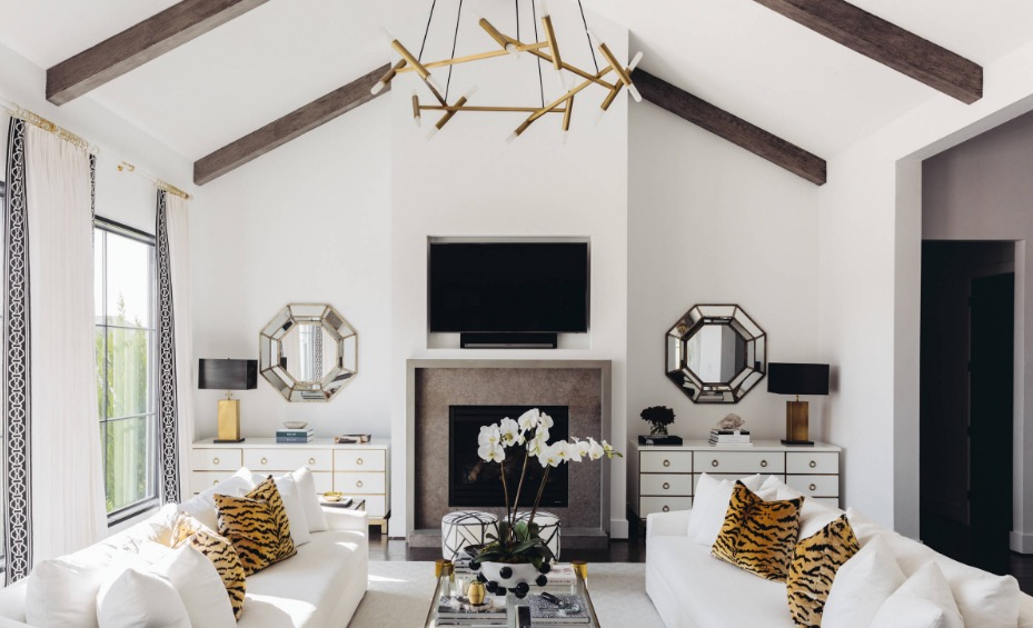 Working Best Along With Your Interior Designer Belle Fille Town House