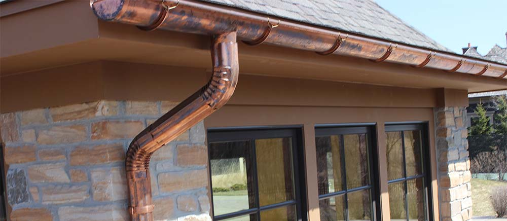 Three Reasons To Choose Copper Gutters Belle Fille Town House